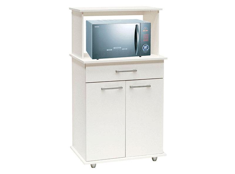 Mueble cocina 68 cm 2 puertas 1 cajón microondas banco ...