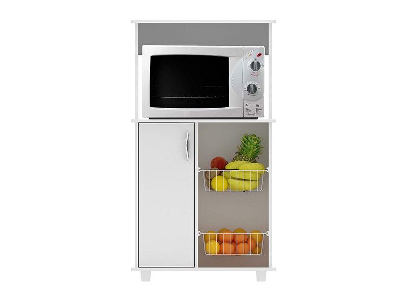 Mueble cocina frutero microondas 68 cm 1 puerta Belice ...