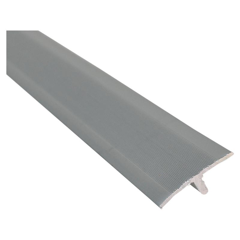 Perfil tapa junta aluminio plata 950 mm Funktion