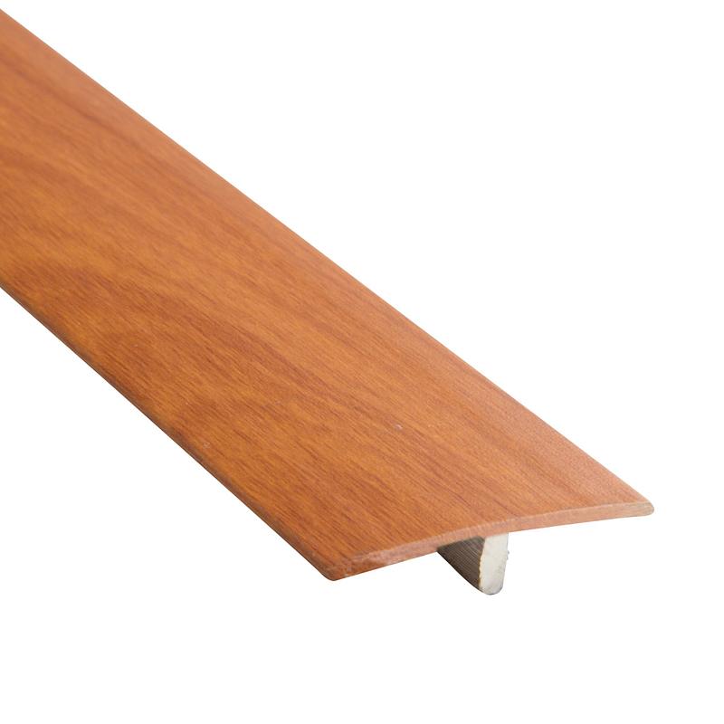 Perfil tapajunta aluminio / cerezo 220 cm Funktion