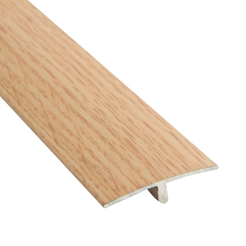 Perfil tapajunta aluminio / roble 95 cm Funktion