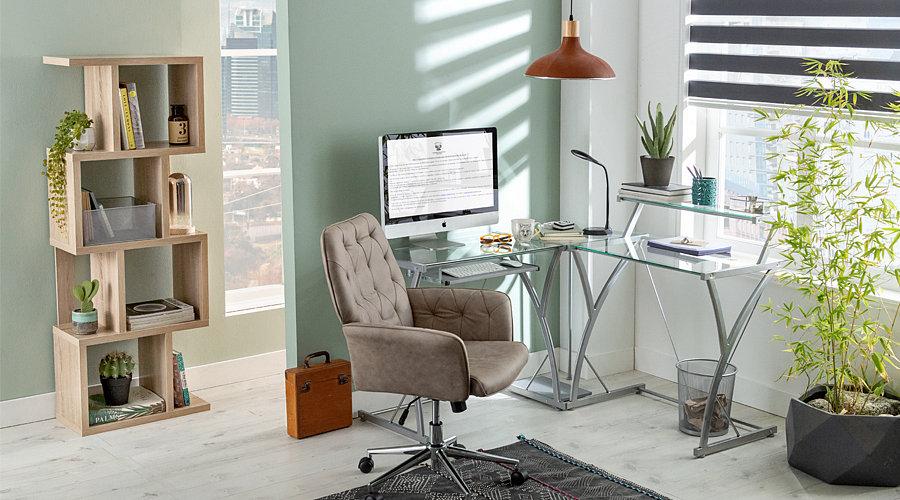 Crea el espacio ideal para tu home office